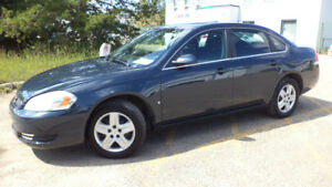 08 Impala - auto - LOADED - A/C - NEWER TIRES - ONLY 158,000KMS