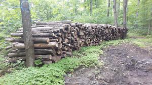 bois chauffage d'érable en 4 pieds