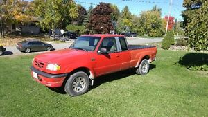 2003 Mazda B-Series Pickups Sport Pickup Truck