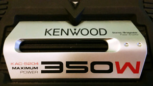 KENWOOD 2 Channel Amp & Scorche Capacitor