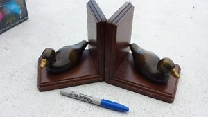 Duck Person Alert!! Hand Painted Ducks + Dishes Bookends Strathcona County Edmonton Area image 4