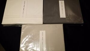 OAKE 500 TC Supima Cotton Flat Sheet - Queen / King - NEW