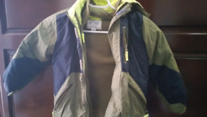 Boys winter coat with snowpants