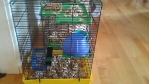HAMSTER CAGE IN GOOD CONDITION