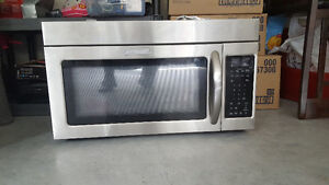Kitchenaids over the range microwave for sale