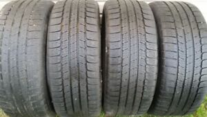 4 pneus d'hiver 255-50-19 Michelin Latitude Alpin HP