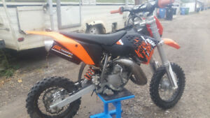 KTM 50sx 2013- Fresh Rebuild Top To Bottom