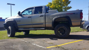 """Wanted cash and trades - 2008 Ram 6"""" Lifted MINT"""