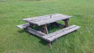 Picnic table for sale in north battleford