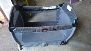 play pen and chair
