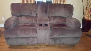 """6 months old couch and loveseat + 28"""" TV"""