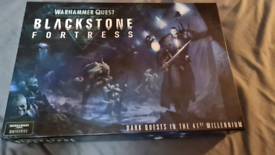 Warhammer 40k Blackstone Fortress and expansions