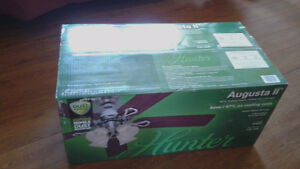 Hunter 52 inch Augusta II Ceiling Fan - New in Box