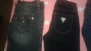Guess jeans and dress