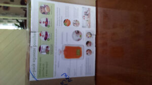 Baby food pouches and pouch filler