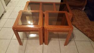Set de 3 tables à vendre!!!
