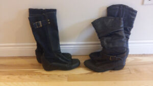 Womens Boots Size 6.5 And 8