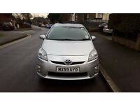 Two Toyota Prius T4 & T-Spirit for Sale , 1.8 Silver, PCO Register, Uber Ready Low Mileage