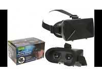 3D Virtual Reality Phone Headset