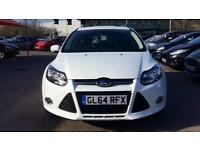 2014 Ford Focus 1.0 125 EcoBoost Zetec 5dr Manual Petrol Hatchback