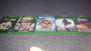 Xbox1 games for sale