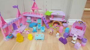 Fisher Price Little People Palace, Fairies and other
