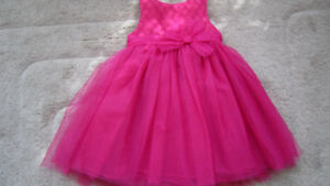 Cherokee fuschia pink dress 4T