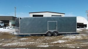 PRICE REDUCED - 2015 Mission Trailers 26+V ALL ALUMINUM CARGO