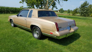 1987 Cutlass Supreme   NO WINTERS