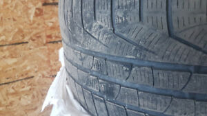 3 Sottozero winter tires 255 35 19