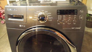 Samsung Front Load Washer with Steam Cycles Kitchener / Waterloo Kitchener Area image 1