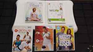 Wii balance board game package