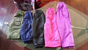 Manteaux, pantalons impermeables et Bottes de pluie