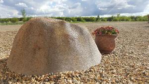 Faux Fiberglass Rock Septic tank lid cover
