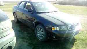 1997 audi a4 turbocharged for trade