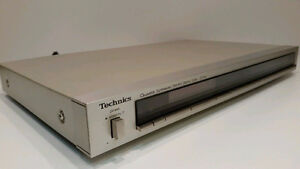 Quartz Synthesizer AM/FM Stereo Tuner radio ST-S4  Technics