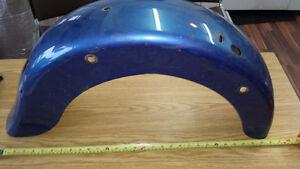 Fenders ailes blue flh harley davidson rear 180 mm Lac-Saint-Jean Saguenay-Lac-Saint-Jean image 2