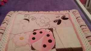 5-Piece Girls Crib Bedding