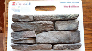 Wanted: Canyon Rock - River Bed Brown Manufactured Stone