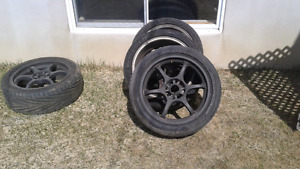 Mags 4x114.3 17po  sentra ect...