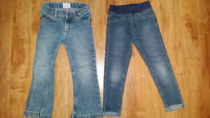 Jeans fille 4t