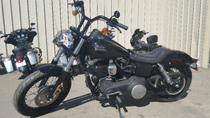 2014 Harley Davidson Dyna- low kms- finance reagrdless of credit