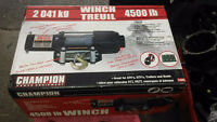 treuil winch 4500 livres