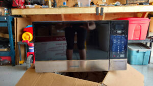 Samsung stainless microwave