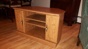 TV Stand and foot stool