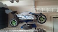 RC Car and many parts