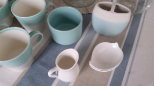 Moving Sale! Dishes, mugs, wineglasses, pottery,  erc.