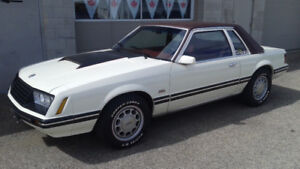 Mustang LX Coupe 351W, manual transmission