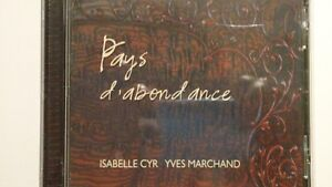 cd Isabelle Cyr - Yves Marchand