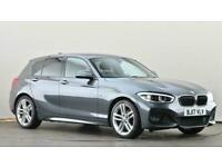2017 BMW 1 Series 118i [1.5] M Sport 5dr [Nav/Servotronic] Hatchback petrol Auto